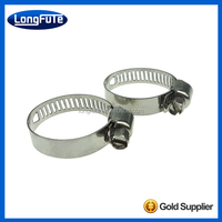 P type rubber lined rubber coated retaining hose clamps/clips