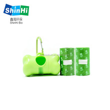 pet supplies products biodegradable plastic compostable pet poop bags