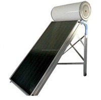 safe compact non-pressurized flat panel v guard solar water heater price list