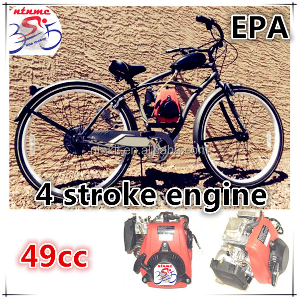 HUASHENG engine / 49cc 4 Stroke motorized bicycle engine kit / EPA approved