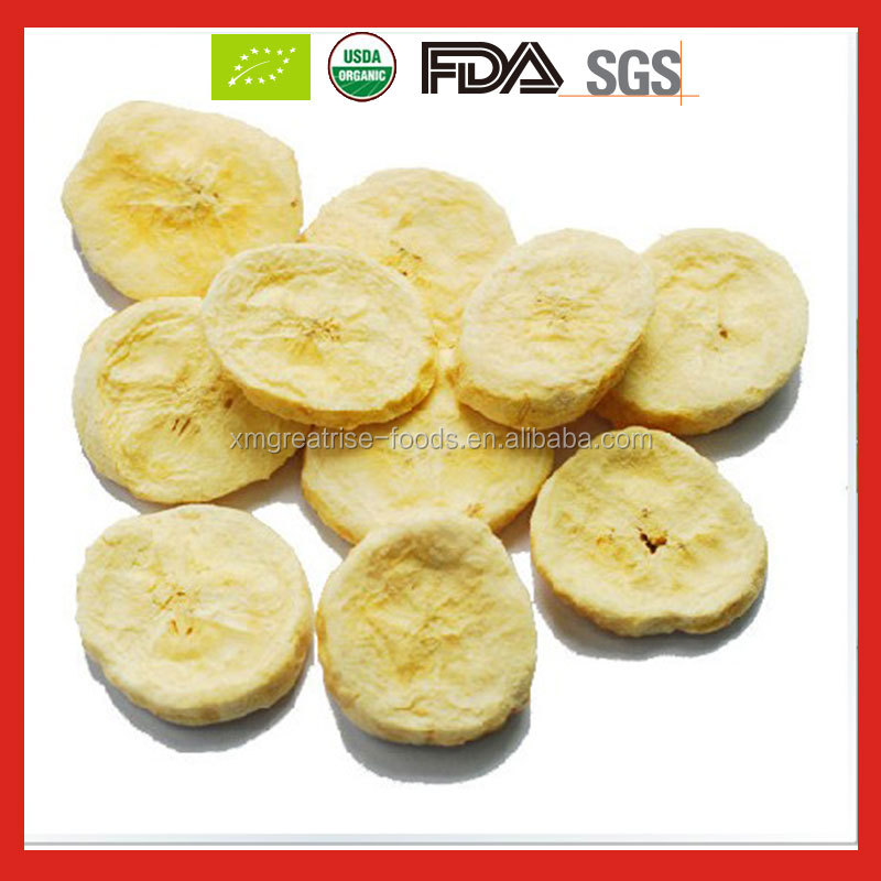 Healthy Freeze Dried Banana/Freeze Dried Banana chips exporter