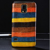 crocodile Special Hard PC Back Case for samsung galaxy S5