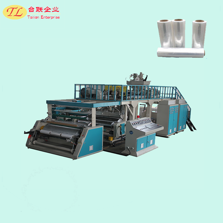 TL High speed high capacity cast stretch film extrusion machine