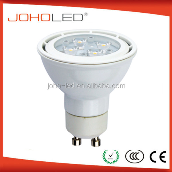 led spotlight 5w gu10 led,aluminum house,400 lumens with white warm,80lm/w,from china supplier