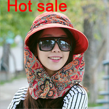 Cheap Custom Outdoor Sun Protection Hat With Neck Cover