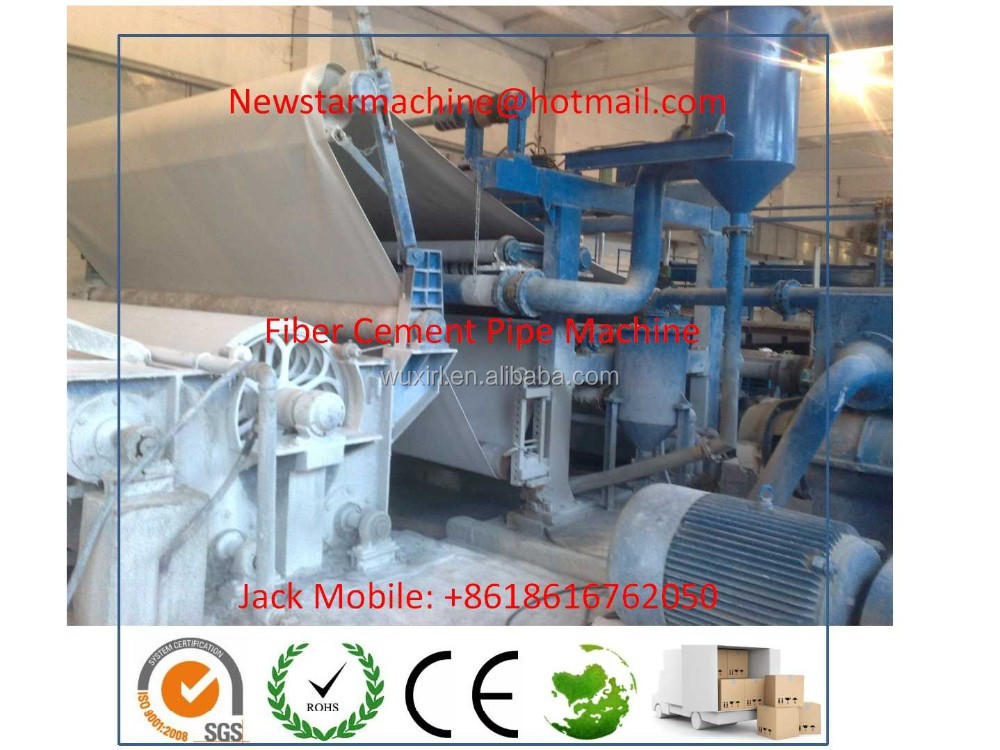 Fiber Enhanced Cement Cable Pipe Making Machine with diameter from 100mm to 1000mm
