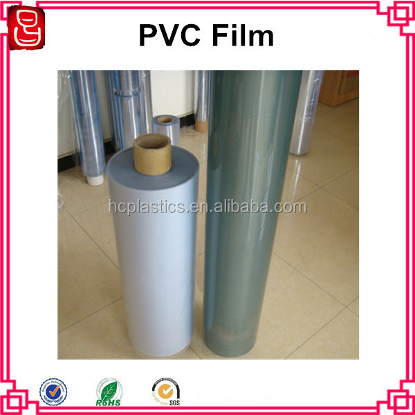 Soft Hardness Clear PVC Film In Rolls
