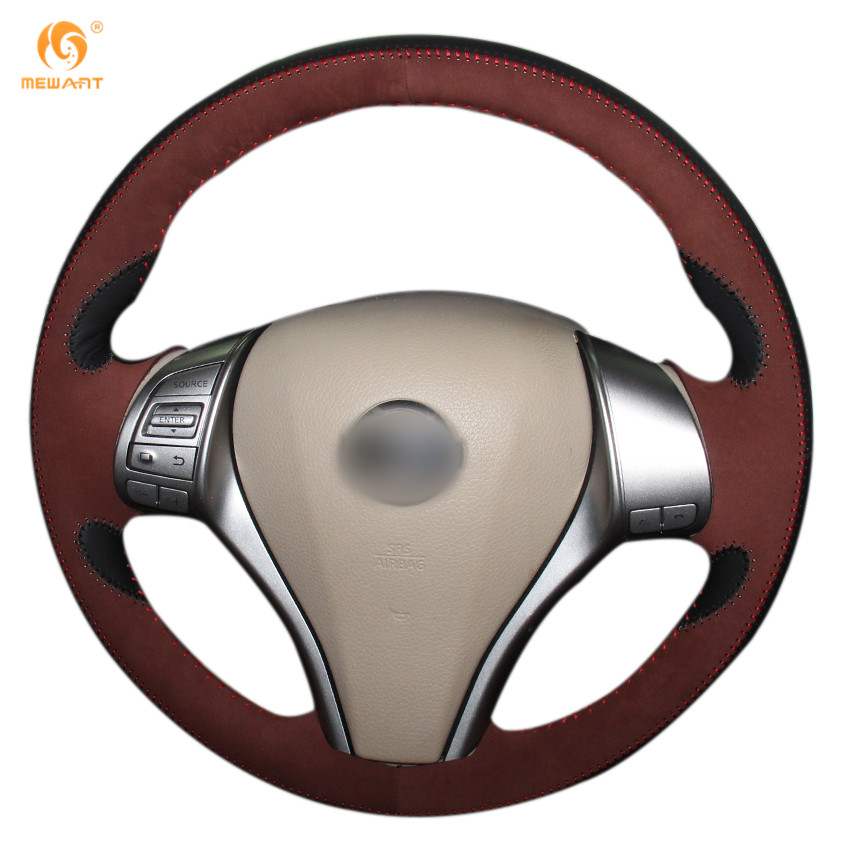 Steering Wheel Cover for Nissan 2013 2014 Teana Altima 2014 2015 X-Trail Rogue