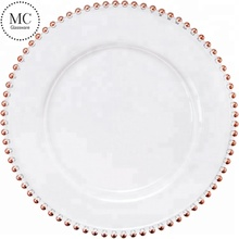 Cheap Wedding Rose Gold Charger <strong>Plate</strong>