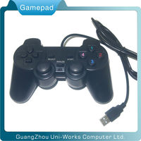 Two motors usb pc game controller
