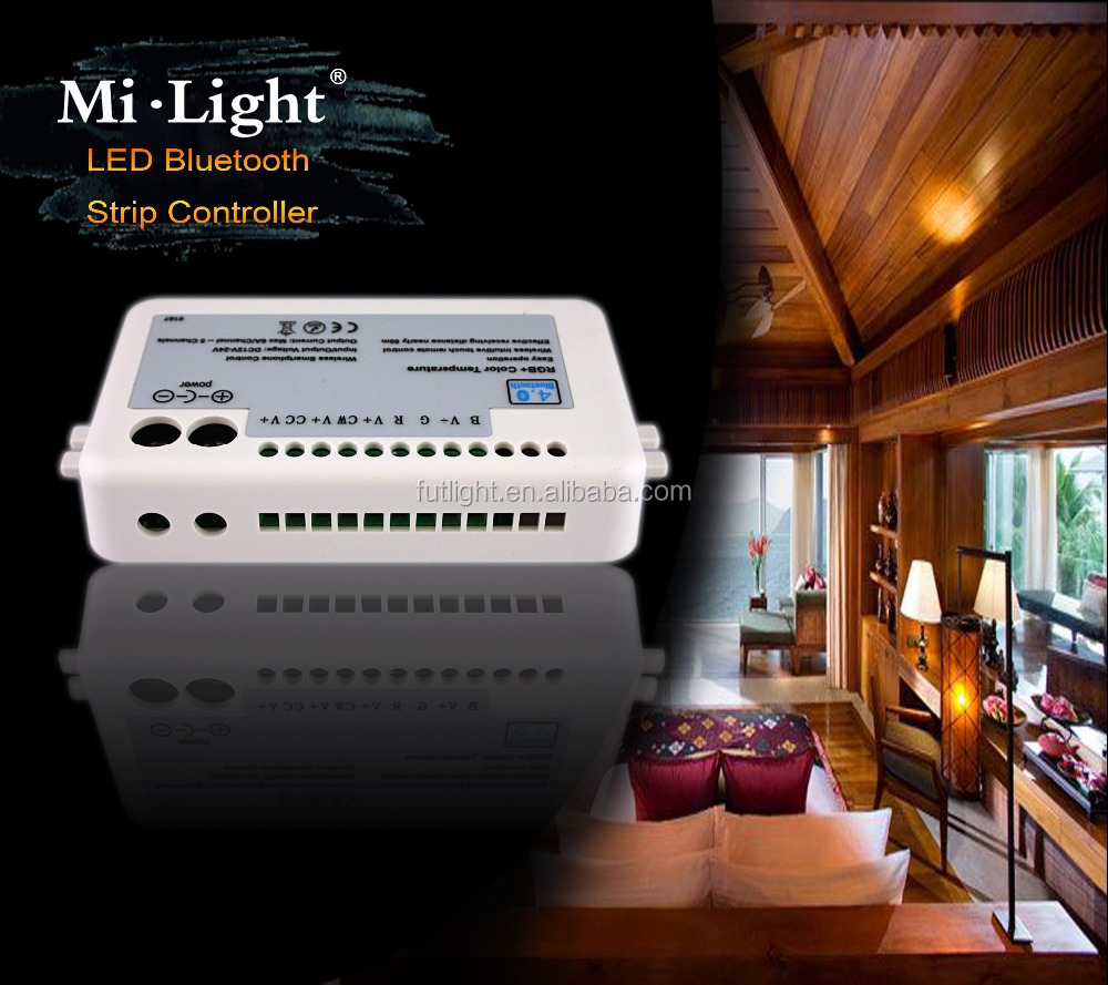 supper Mini led control box multi color change & dimming & music rhythm flash chasing led bluetooth timer strip controller