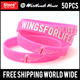 cheapest silicone bracelets | All size colorful message with a wristbands | nice looking silicone wristbands