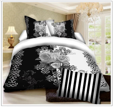 Chinese 3d microfiber bed sheet bedding setfor home