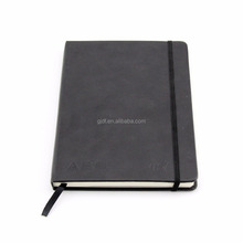 Custom Pu Leather Notebook with Elastic Band
