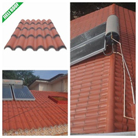 3.0mm terracotta synthetic resin roof tile Roma style