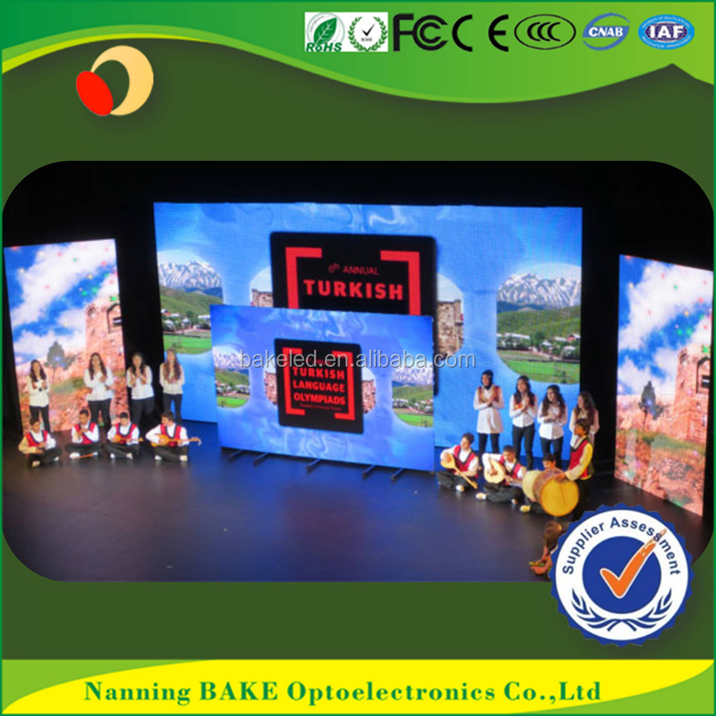 Factory price creative new style 2016 top selling hot goods P3 led display technology