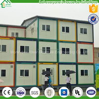 easy to use Luxury good quality prefabricated container house with small kitchen design