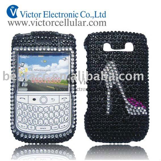 Diamond crystal case for blackberry bold 9000