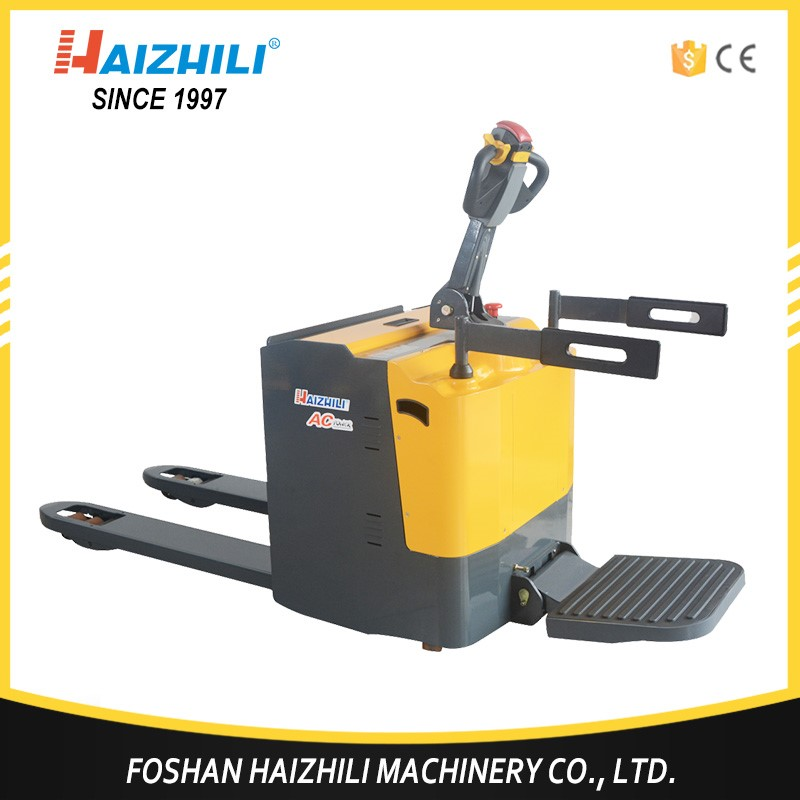 Hot selling general industrial equipment durable service automatic 2ton electric pallet truck