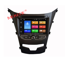 8Core Android 6.0 car multimedia system for ssangyong Actyon Korando 2014 with dvd player GPS navigation 4G wifi 2GRAM+32GROM BT