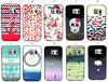 for Galaxy S6 Edge Frame bumper case, for Samsung Galaxy S6 Edge skull case, 2 in 1 case for Samsung G9250