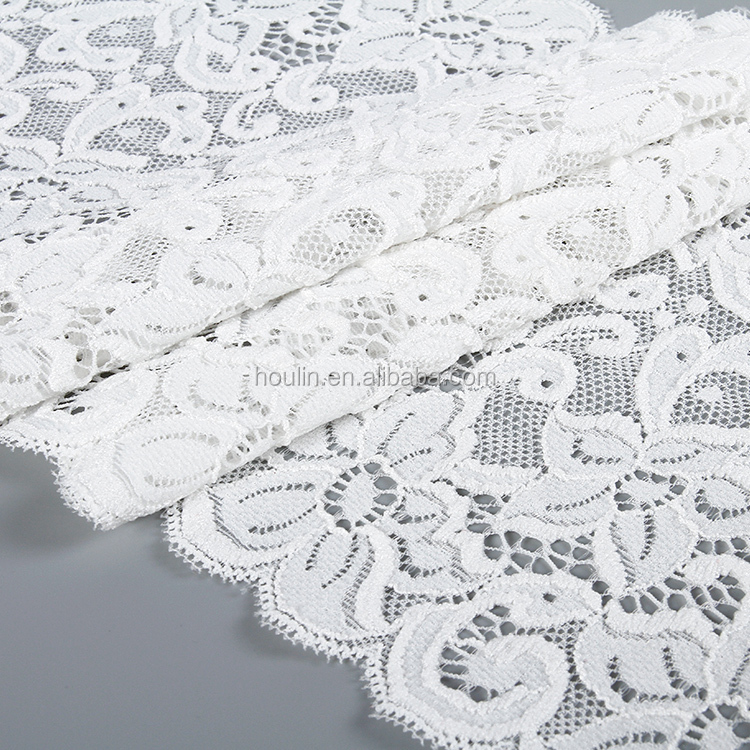 18cm new spring fashion Decorative bridal cotton spandex embroidery sd flower trimming lace trim for textile curtain