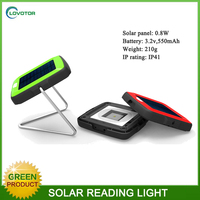 Indoor use table lamps LED desk lamp with 0.8W solar panel