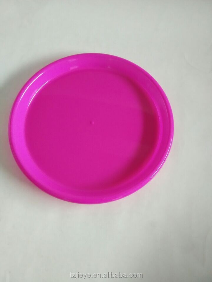 "Hot Sale Disposable microwave Plastic Plate, Plastic Dish (Size 10"")"