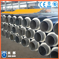 underground heating system of insulated water pipeline