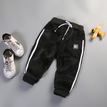 S17825A Wholesale Thick autumn and winter Children's <strong>Pants</strong> High Quality <strong>Boy's</strong> Sports <strong>Pants</strong>