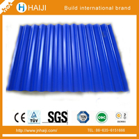 Prepainted Corrugated GI Color Roofing sheets Coated Steel Sheet