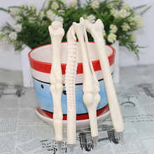 Creative Pen Bone Shape Ballpoint Pens White,medical promtioanl pen