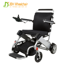 Wholesales product Lithium Battery Brushless DC Motor Small Foldable Folding Electric Power Wheelchair