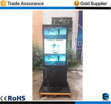 EKAA 55'' New edition high definition floor Standing outdoor advertising LCD/LED display Digital Signage kiosk