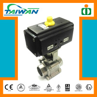 Taiwan paintball co2 valve, cs casting ball valve, rubber lined ball valve