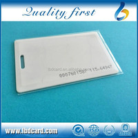 UHF Programmable RFID Aline H3 Clamshell ID Card H3 RFID Cards Long Reading Distance