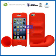 C&T Silicone cell phone holder for iphone 5s