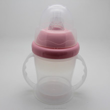 2015 New arrival simulation nipple baby training cup