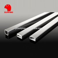 304 Square and Rectangle Stainless Steel Tubing for decoration