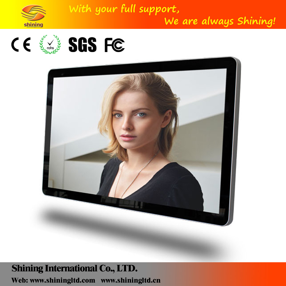 "Hot selling 21"" to 65"" led backlight lcd monitor digital signage mp4 video player blue SH3203HD"