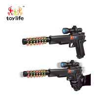Hot product interesting children toys electric toy pop gun for boy gift