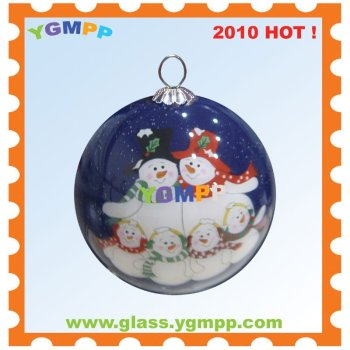 Sell YGM-B67 Inside Hand Painted Christmas bauble