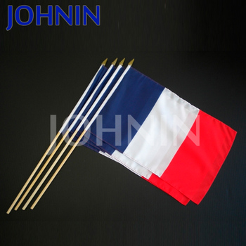 2018 Football big event Fans cheering France hand waving flag