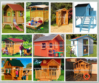 Good Quality And Low Price Wooden Playhouse