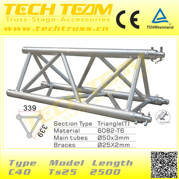 China Triangle Spigot Truss For Display