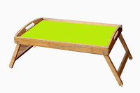 New folding bamboo laptop,notebook table on bed,laptop bed tray