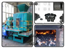 Coal/charcoal/iron dust briquetting machine
