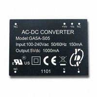 5W to 6W SMPS AC-DC Power Supply , CE & UL Certification , AC to DC Power Converter