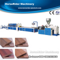 WPC PE profile with co-extrusion machine line
