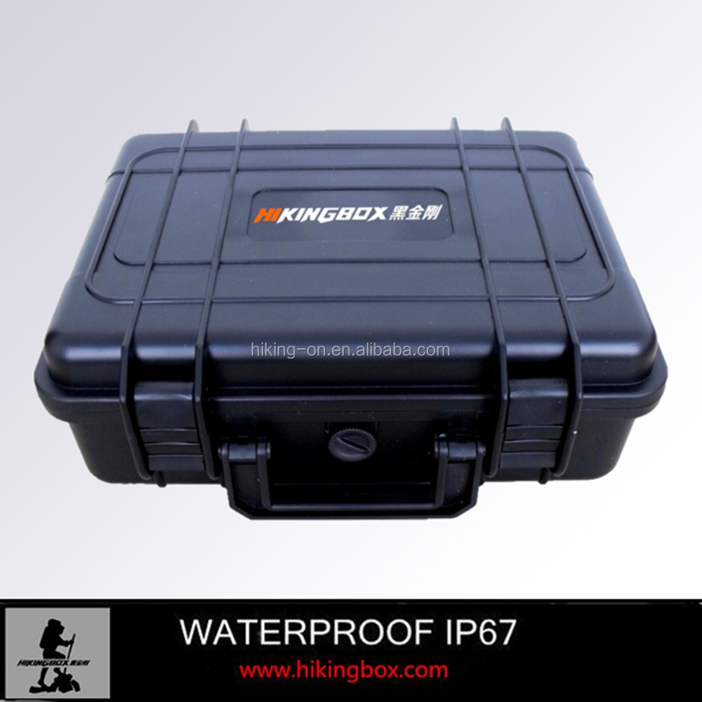 Case type hard ABS waterproof plastic equipment carrying case for outdoor uses HTC006